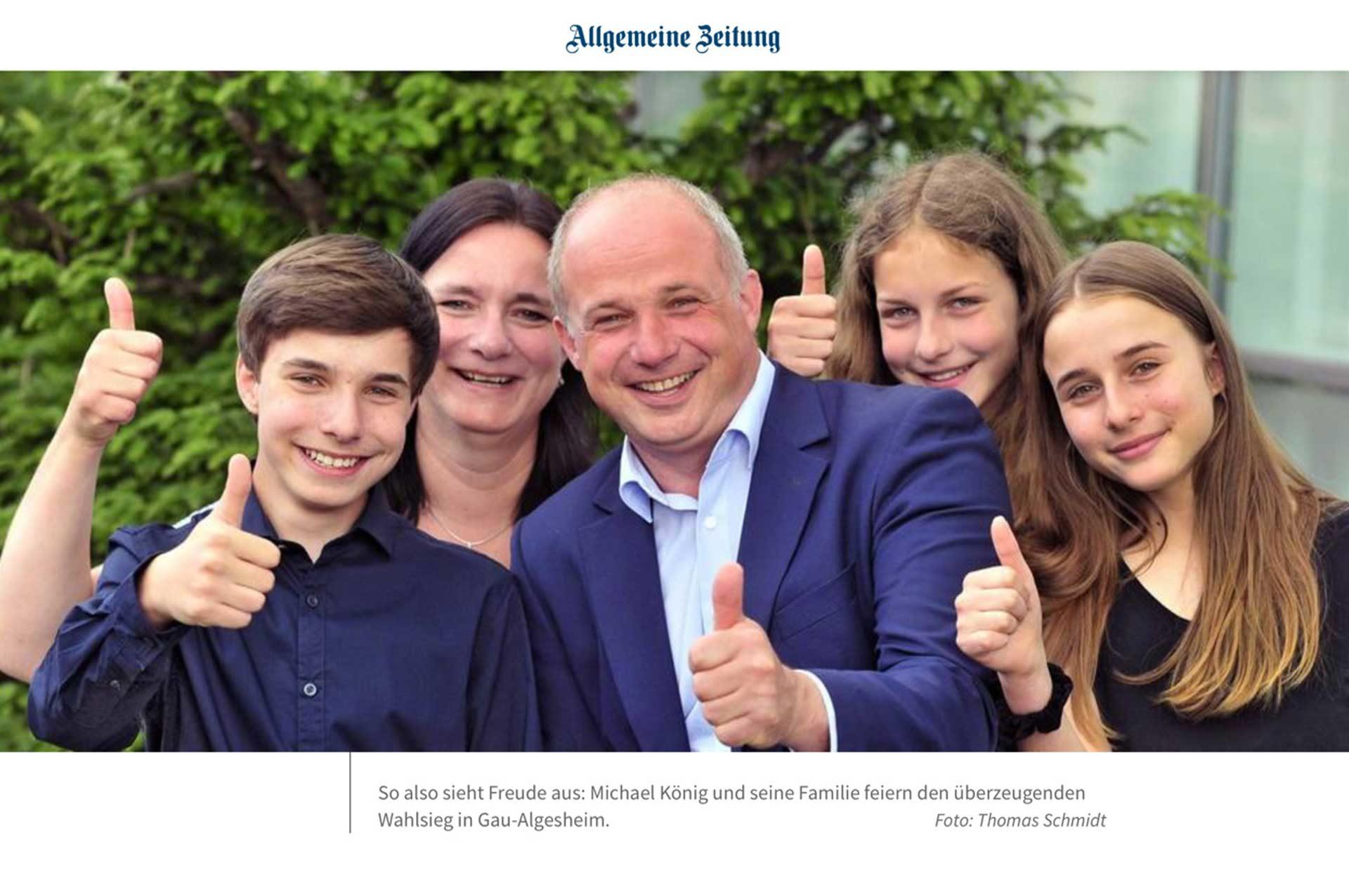 Michael König ist neuer Stadtbürgermeister