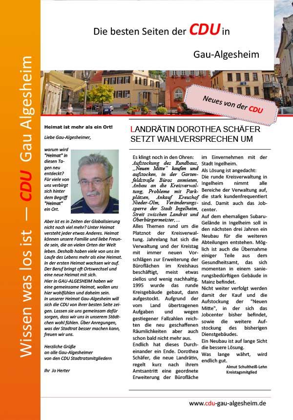 Die besten Seiten der CDU Ausgabe 2