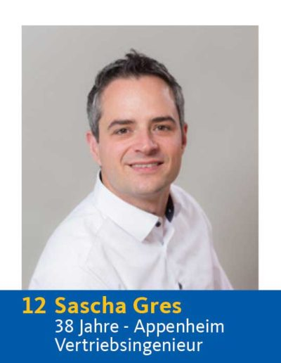 12 Sascha Gres