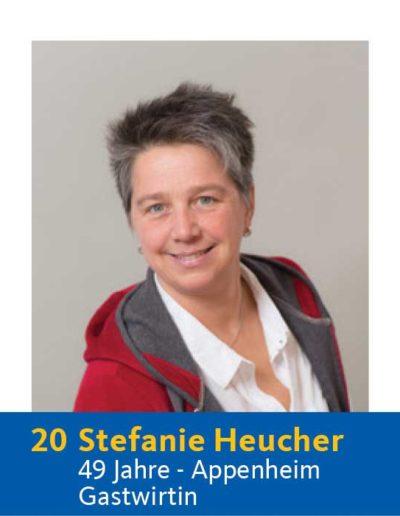 20 Stefanie Heucher