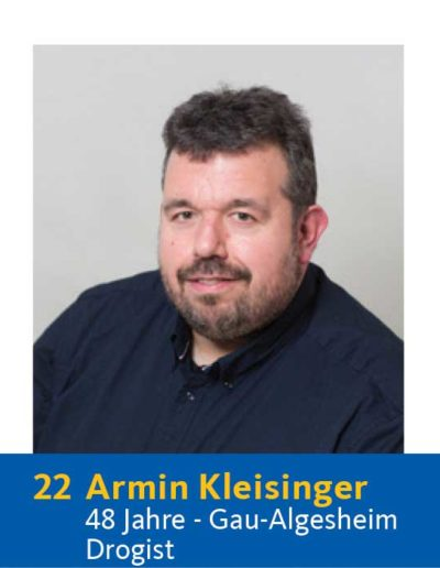 22 Armin Kleisinger