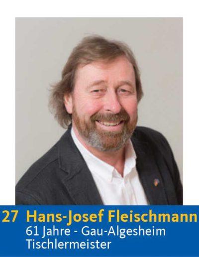 27 Hans-Josef Fleischmann