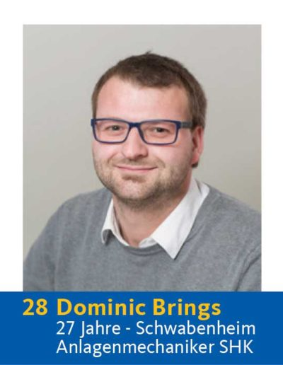 28 Dominic Brings