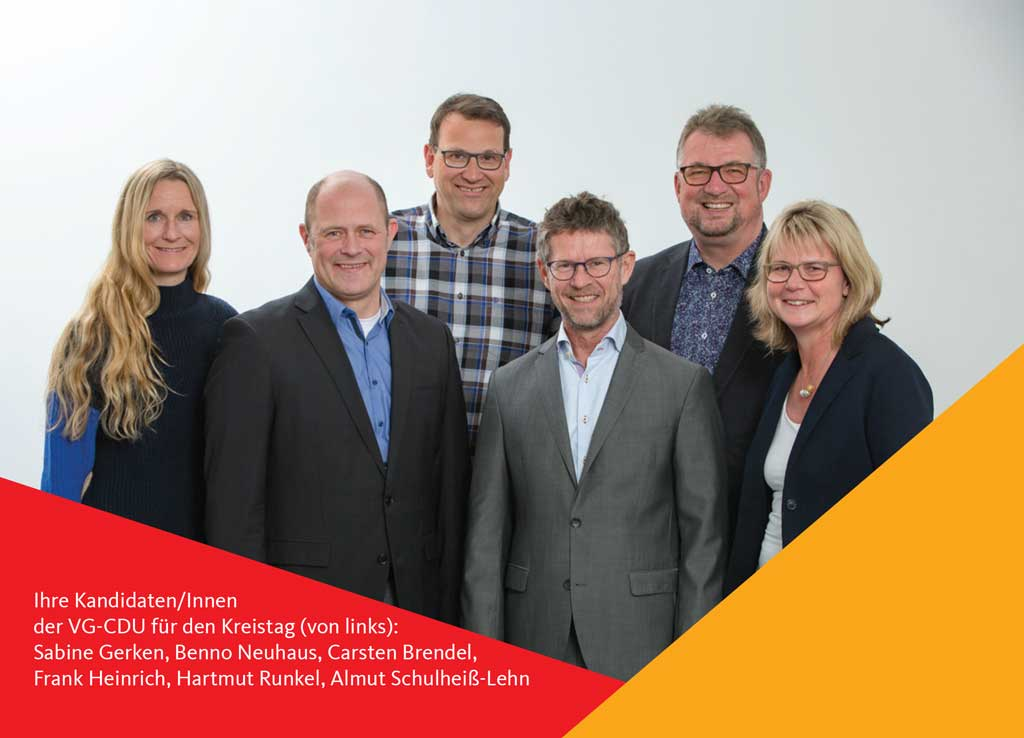 Verbandsgemeinderat: Die CDU Kandidaten