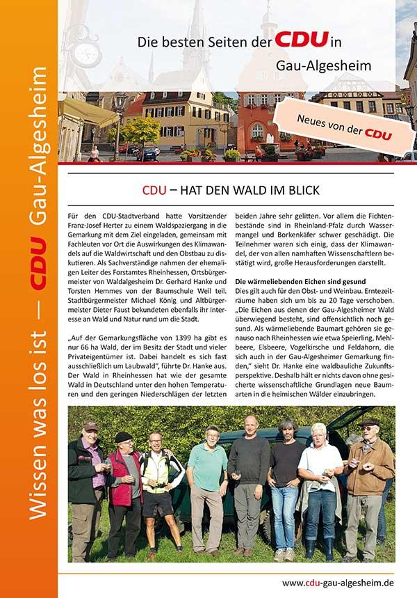 Die besten Seiten der CDU Ausgabe 6