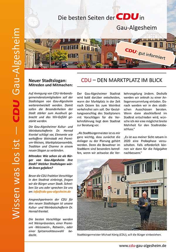 Die besten Seiten der CDU Ausgabe 7