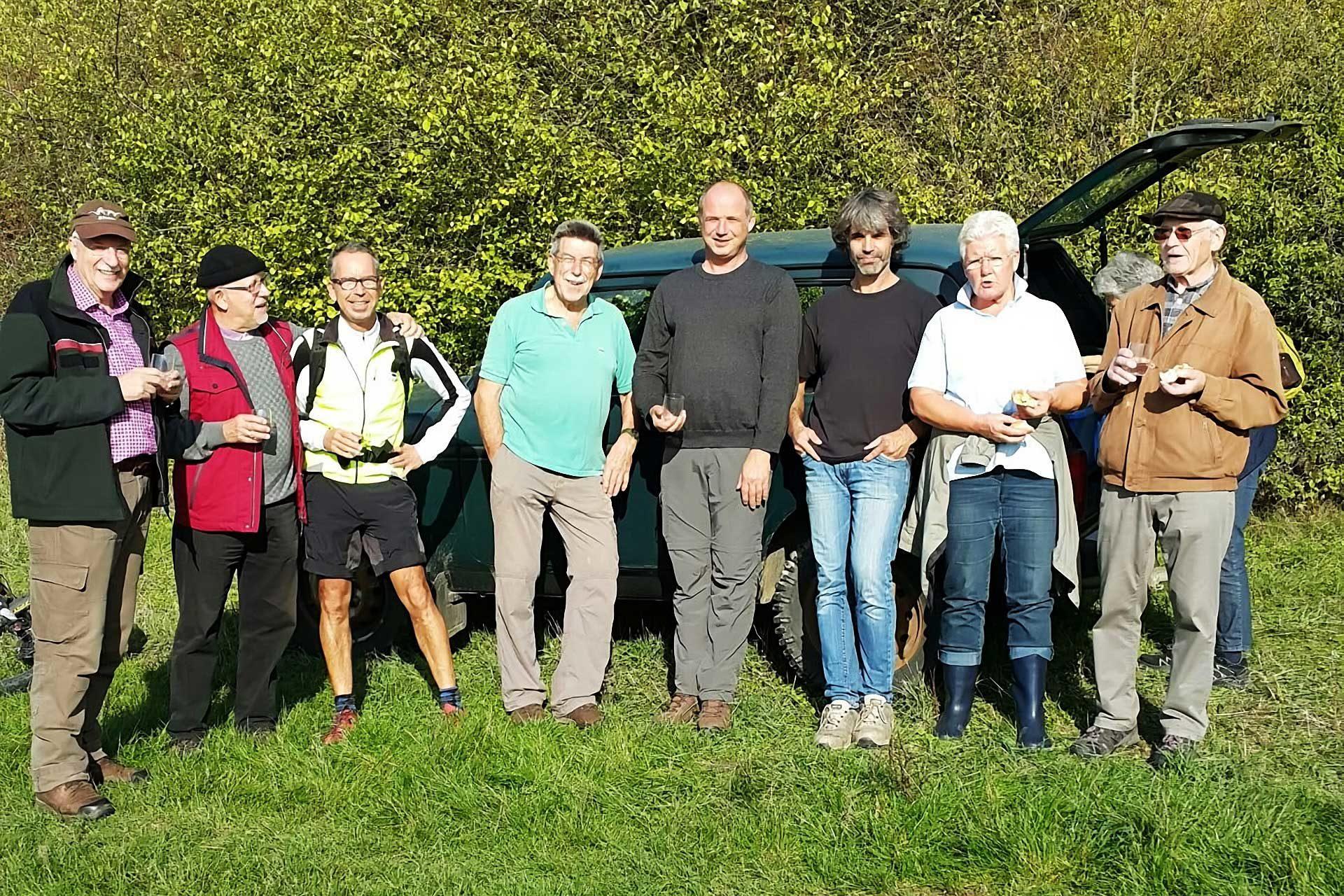 CDU Waldbegutachtung mit Fachleuten